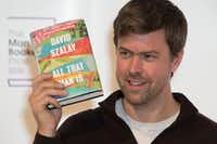 David Szalay poses for a photograph l in London on Oct. 24, 2016, ahead of the announcement of the winner of the 2016 Man Booker Prize for Fiction.(AFP/Getty Images)