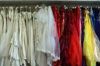 Wedding dresses can be good buys in the fall, when retailers typically try to clear their racks for new merchandise.  (Carl Court/Getty Images)