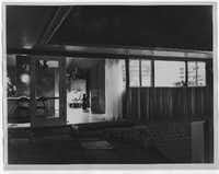 The house was designed to be opened up to the outdoors, as shown in this 1950s photograph. (Ulric Meisel/Special Contributor)