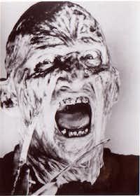 Robert Englund as Freddy Krueger in <i>A Nightmare on Elm Street</i>.<div><br></div>(1984 File Photo)