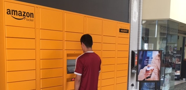 What Are Amazon Lockers And Why Are Irving Mall 7 Eleven And