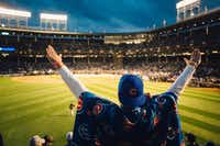 Chicago Cubs fans have been known to scatter the ashes of loved ones at Wrigley Field, site of the 2016 World Series. (Alyssa Schukar/The New York Times)(NYT)