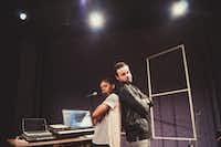 "<i>B-Side</i> choreographer Tiffany Rea-Fisher with multi-score composer Michael Thurber.(<p><span style=""font-size: 1em; background-color: transparent;"">(Lauren Desberg)</span><br></p><p></p>)"