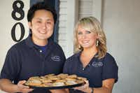 "<p><span style=""font-size: 1em; background-color: transparent;"">Leon Chen (left) and Tiffany Taylor-Chen created Tiff's Treats, which has locations across Texas and in Atlant</span></p>(Courtesy of Tiff's Treats and Kate McCoy)"