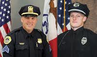 "<p><span style=""font-size: 1em; background-color: transparent;"">Des Moines police Sgt. Anthony ""Tony"" Beminio, left, and Urbandale Police Officer Justin Martin, right, were fatally shot early Wednesday morning. </span></p>((Courtesy of the Des Moines Police Department))"