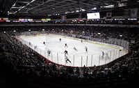 The Allen Americans play in the Allen Event Center. Stewart F. House/Special Contributor(Special Contributor)