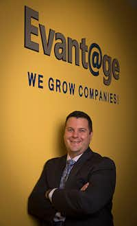Chris Auwarter, president of Evantage(G.J. McCarthy/Staff Photographer)