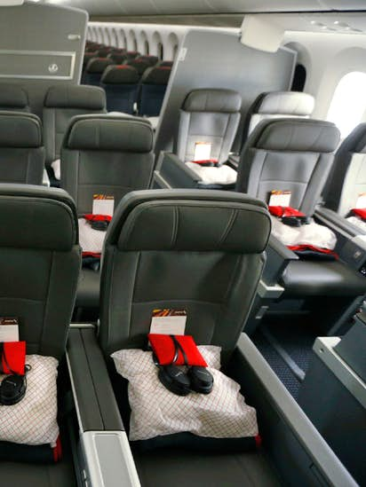 Take a look at the roomier seats in American Airlines' newest