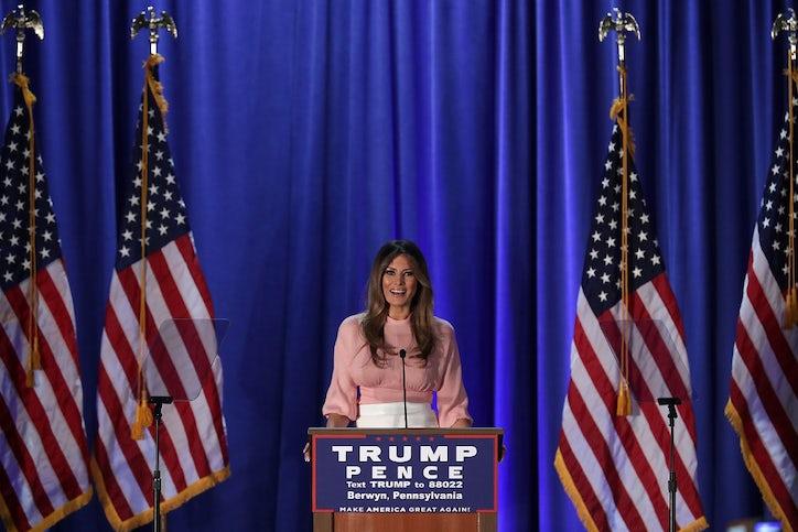 Kết quả hình ảnh cho Melania Trump