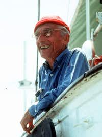 "<p><span style=""font-size: 1em; background-color: transparent;"">French sea explorer and documentary-maker Jacques Cousteau.</span></p>(The Cousteau Society)"