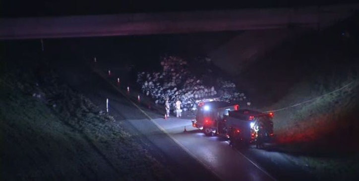 Spark from flat tire ignites propane tanks in Arlington | Traffic | Dallas News
