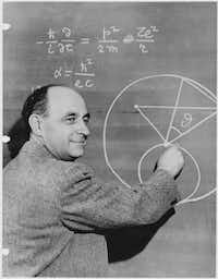 Enrico Fermi, circa 1950. &nbsp;(<p></p><p>National Archives/Argonne National Laboratory</p><p></p>)