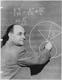 Enrico Fermi, circa 1950. (<p></p><p>National Archives/Argonne National Laboratory</p><p></p>)