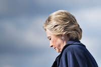 Hillary Clinton has struggled to match the enthusiasm that Barack Obama generated among African-Americans and millennials. (Brendan Smialowski/Agence France-Presse)