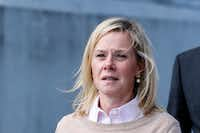 Bridget Anne Kelly, former deputy chief of staff to New Jersey Gov. Chris Christie, was found guilty in the Bridgegate trial at the Martin Luther King Jr. Federal Courthouse on Friday in Newark, N.J. (Kena Betancur/Getty Images)(Getty Images)