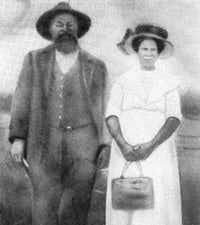 Jeff and Hannah Hill are among the early settlers of Little Egypt. According to family records, they purchased property in Little Egypt in 1883. (Dallas Morning News File Photo)