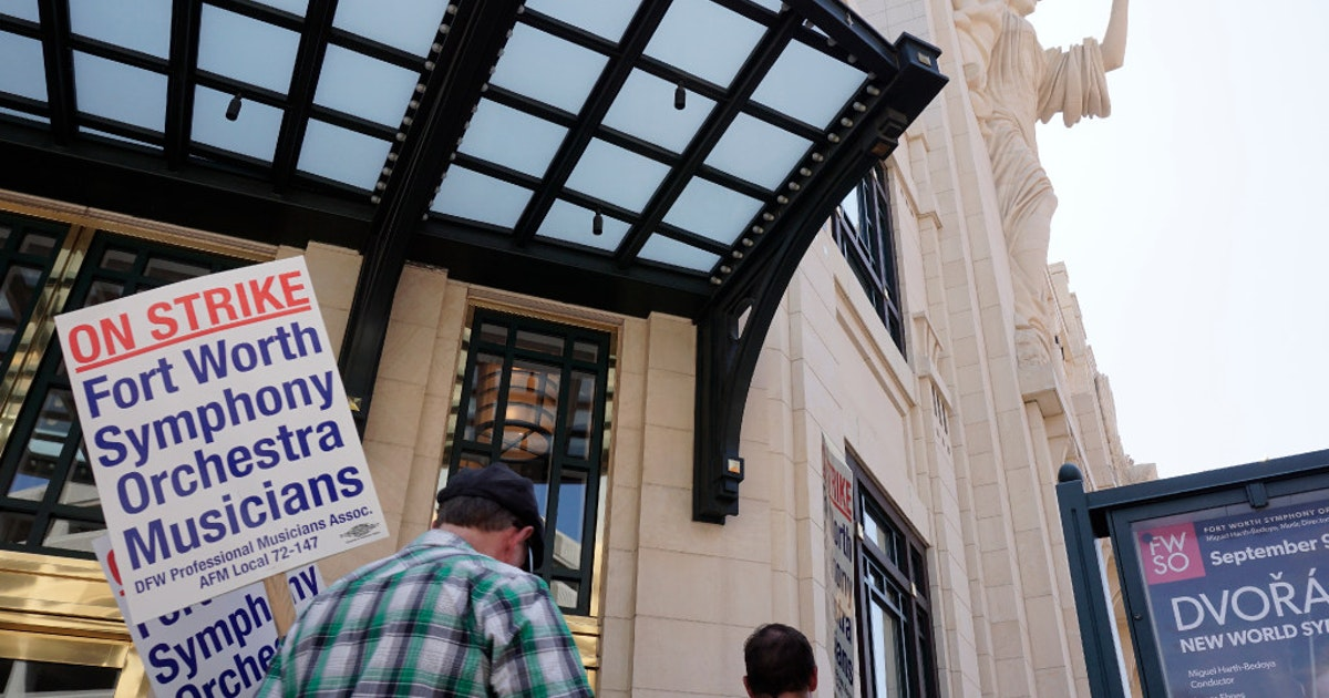 With No End In Sight Fort Worth Symphony Strike Continues To Divide Labor And Management