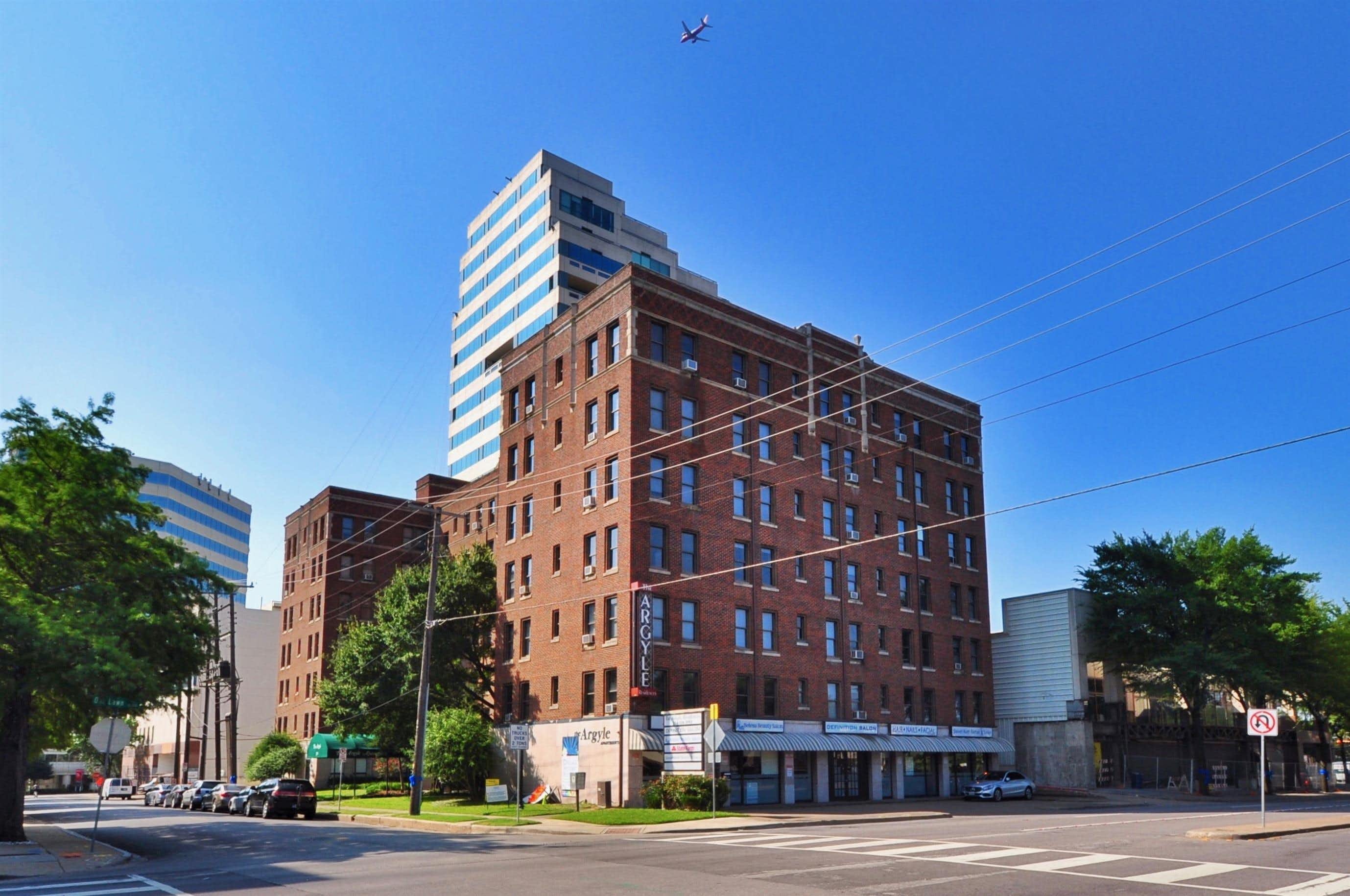 The Argyle is one of the longest continually operating apartment buildings in Dallas.Indio Management
