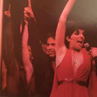 Danny Buraczeski (center) performing with Liza Minnelli in <i>The Act</i>.(Courtesy of Danny Buraczeski)