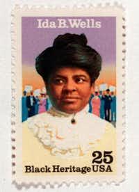 ORG XMIT:  Ida B. Wells stamp.(125101)