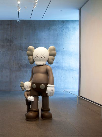 478c99e1 KAWS and effect: Acclaimed artist's eye-popping work makes a difference,  even in the gift shop