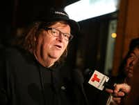 "Filmmaker Michael Moore(<p><span style=""font-size: 1em; background-color: transparent;"">Getty Images</span><br></p><p><br></p>)"