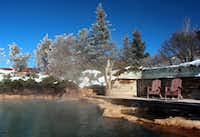 Clothing-optional Orvis Hot Springs is open year-round.(Brent Bayless/Orvis Hot Springs)