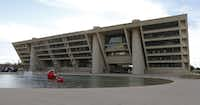 Dallas City Hall, brutalist((David Woo/Staff Photographer))
