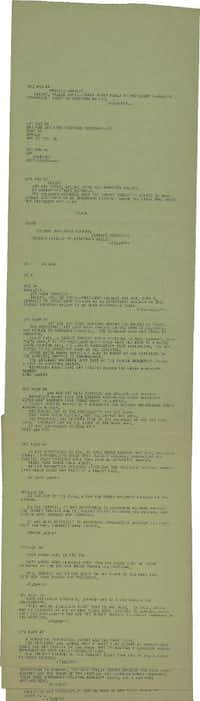 "UPI bulletins from Nov. 22, 1963 report on the assassination of President John F. Kennedy. <p><span style=""font-size: 1em; background-color: transparent;"">Texas State Library and Archives Commission</span><br></p><p></p>"