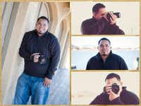 Army veteran Marvin Blue loves his job as a wedding photographer.(Courtesy of Blue Scope Photography)