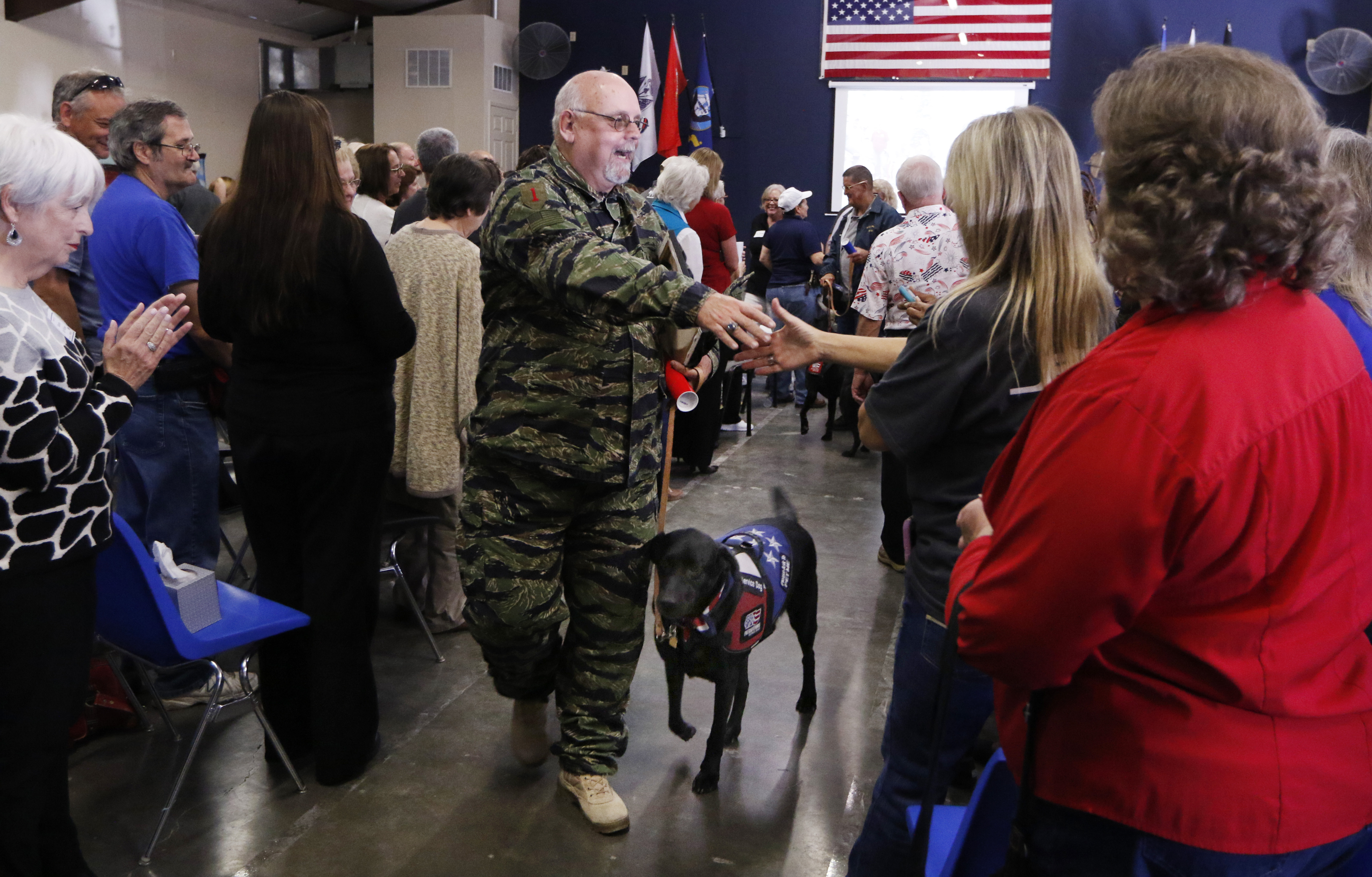 Service Dogs Cost 33k But Are Priceless To Veterans In Need