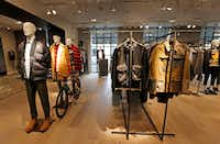 The Men's section of Forty Five Ten, a new four-level store in downtown Dallas, photographed on Friday, November 11, 2016. (Louis DeLuca/The Dallas Morning News)(Staff Photographer)