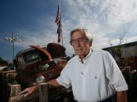 "Joe Mapes, owner of Joan's Spot Free Car Wash, stands by a 1950 Dodge pickup truck in front of his business in Irving, Texas. Mapes voted for Donald Trump for president.(<p><span style=""background-color: transparent; font-size: 1em;"">Guy Reynolds/Staff photographer</span><span style=""font-size: 1em; background-color: transparent;""></span></p><p></p>)"