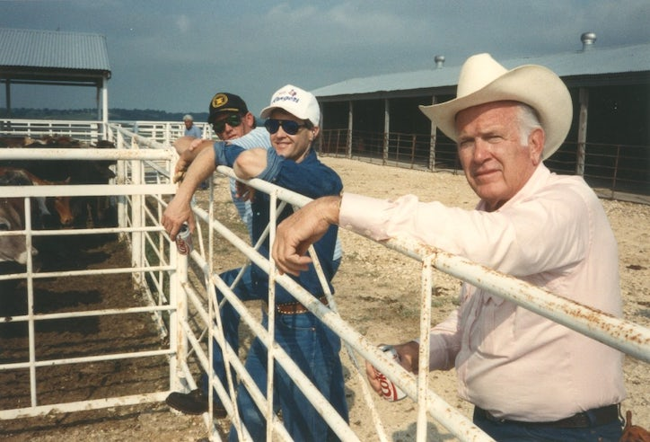Four Stars Auto Ranch >> Cloyce Box's Southfork and fortune made him a king ... who ...