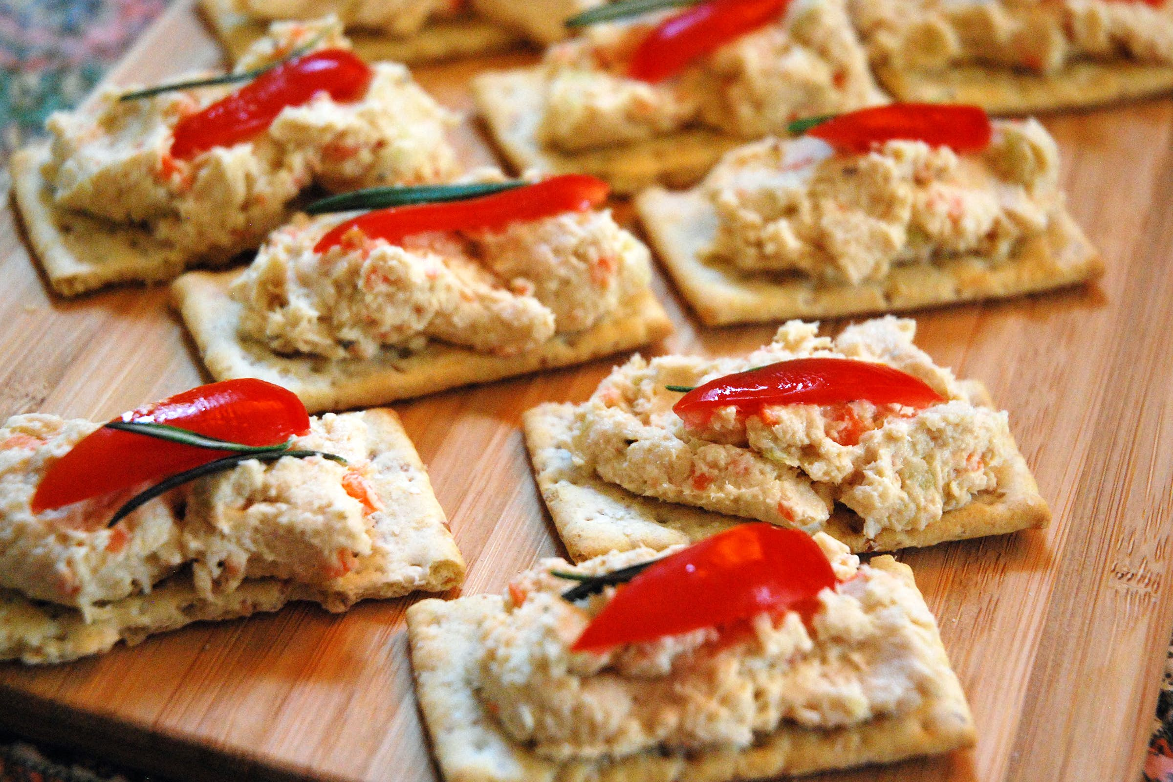 A festive party appetizer that won 39 t add to our waistlines for Festive kitchen dallas