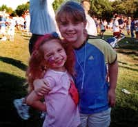 Liberty (left), 6,  and Faith Battaglia, 9, were killed in their father's Deep Ellum loft during a weekly visit in 2001. ((File Photo))