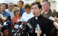 A 2005 file photo of Father Frank Pavone.(AP)