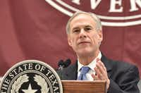 Gov. Greg Abbott  has yet to announce a decision on who will be the next Dallas County district attorney. Tomas Gonzalez/Denton Record-Chronicle
