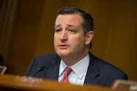 Ted Cruz, R-Texas Evan Vucci/AP Photo