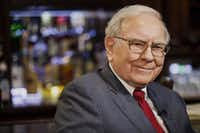 Warren Buffett, chairman and chief executive officer of Berkshire Hathaway Inc., during a 2014 Bloomberg Television interview. (Bloomberg /Chris Goodney)(Bloomberg)