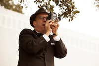 Actor Paul Giamatti plays Abraham Zapruder in a scene from the movie <i>Parkland</i>.(Claire Folder/Exclusive Media Entertainment)