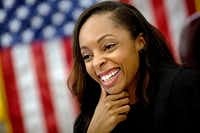 Criminal court Judge Shequitta  Kelly (G.J. McCarthy/The Dallas Morning News)