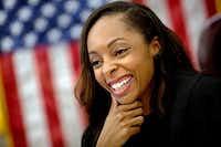 Criminal court Judge Shequitta Kelly (G.J. McCarthy/The Dallas Morning News)