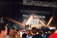 The Charlatans at EdgeFest. The good ol' days. ((Courtesy George Gimarc))