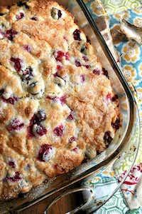 Cranberry Buttermilk Breakfast Cake(Alexandra Cooks)