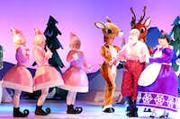 'Rudolph the Red-Nosed Reindeer The Musical,' a stage adaptation of the stop-motion animated television special, will be presented by Performing Arts Fort Worth at Bass Hall in Fort Worth Nov. 22-23, 2016 and by Dallas Summer Musicals at Fair Park Music Hall in Dallas Nov. 25-27, 2016.(Character Arts)