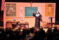 "Nonie Newton Riley in ""Sister's Christmas Catechism.""(Courtesy of WaterTower Theatre)"
