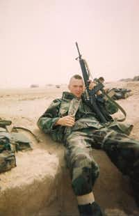 Owens risked his life numerous times to help injured Marines. ((Lezleigh Kleibrink))