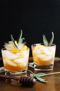 Honey Winter Bourbon Cocktail(One Broad's Journey)