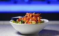 A bowl of Southwestern Salad at Studio Movie Grill in The Colony.(Jae S. Lee/Staff Photographer)